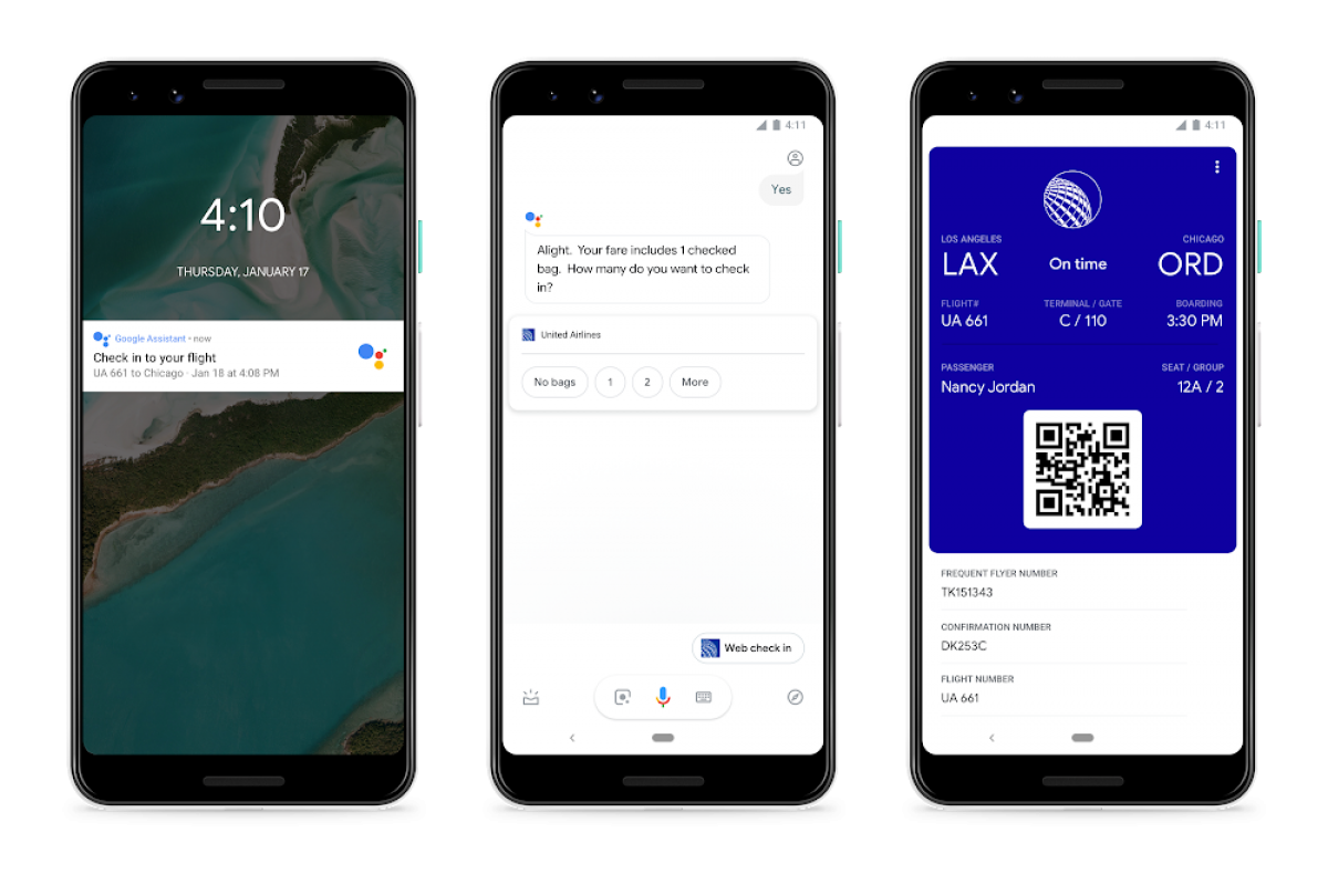 Google Assistant adds two new helpful travel features