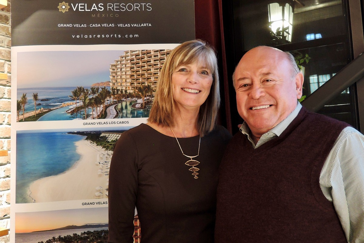Velas Resorts shares property updates with Vancouver agents