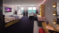 Virgin Voyages shows off Rockstar Suites aboard the Scarlet Lady