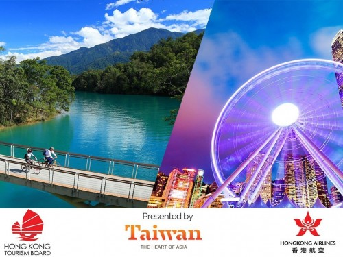 This is how you can explore Hong Kong & Taiwan!