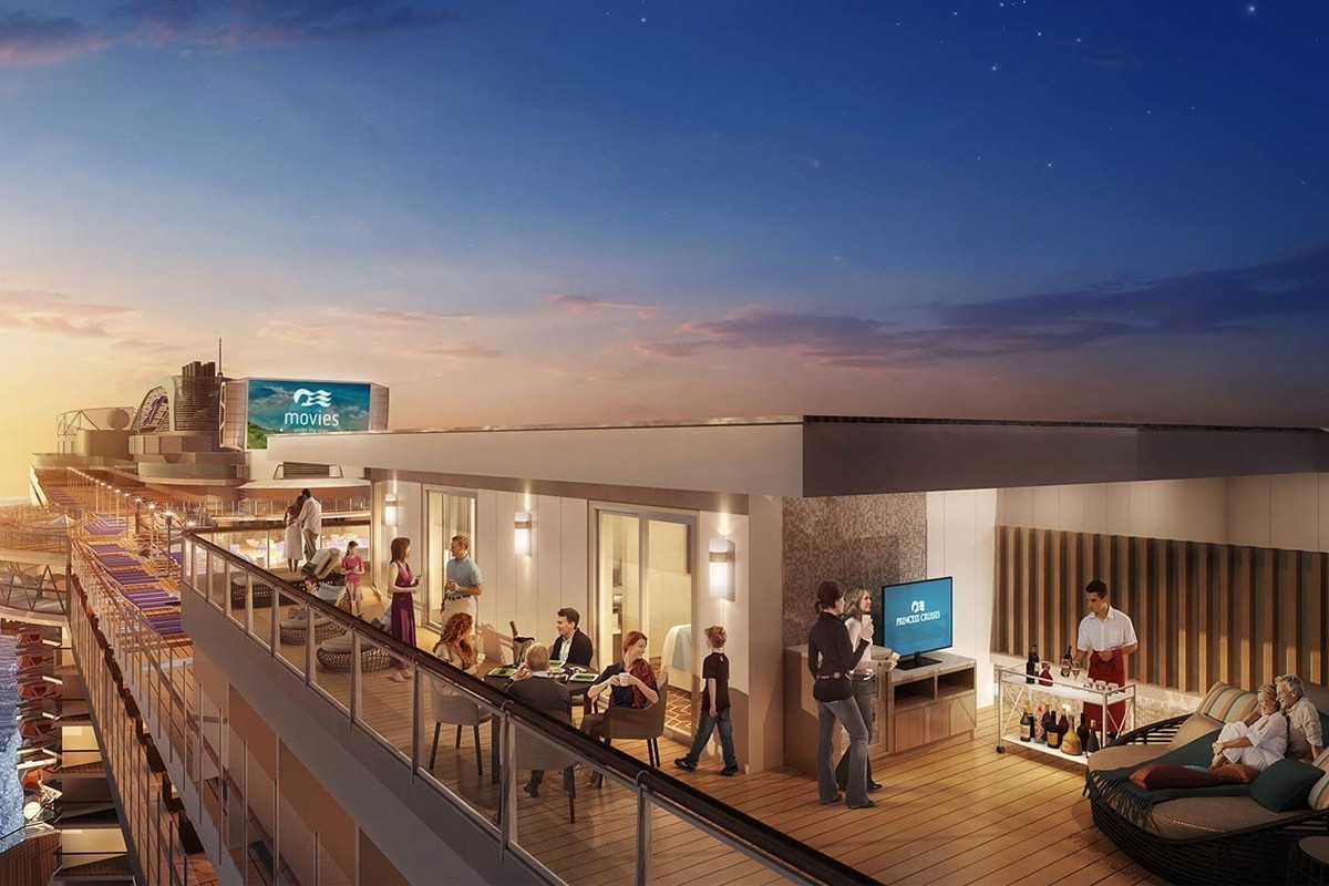 Princess now has the largest balconies at sea