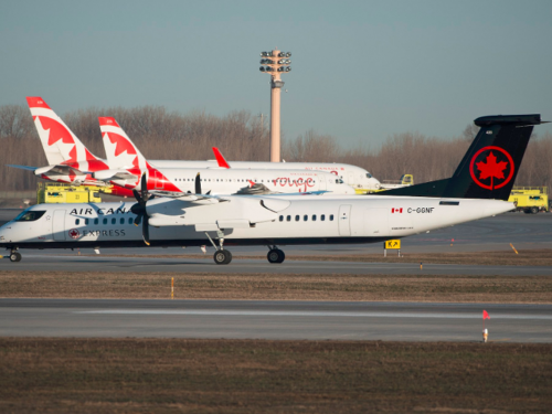 Air Canada makes changes to regional Western routes