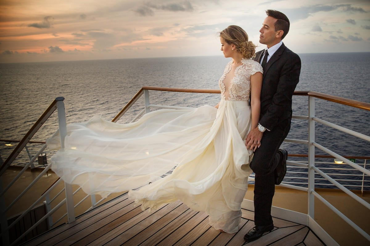 Getting married at sea: a guide to wedding cruises