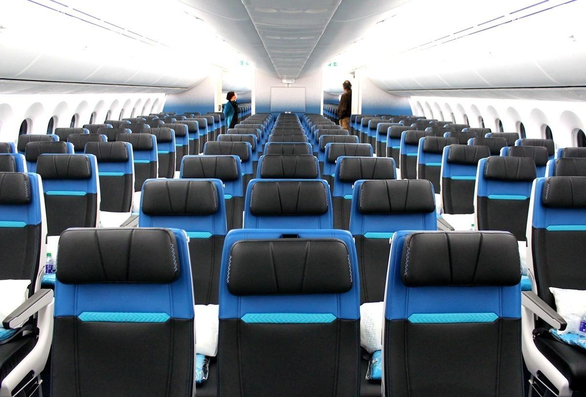 We toured WestJet's first-ever Boeing 787-9 Dreamliner
