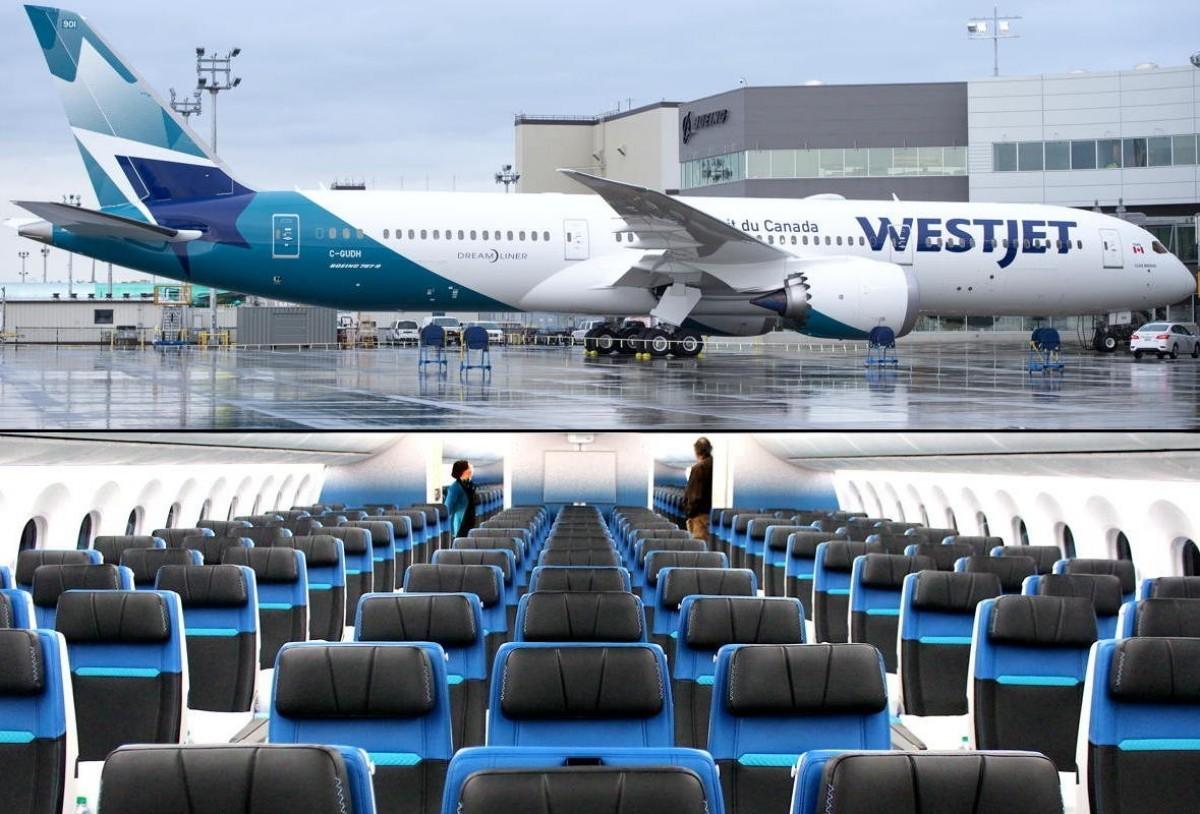 Pax Video Step Inside Westjet S New Boeing 787 9 Dreamliner