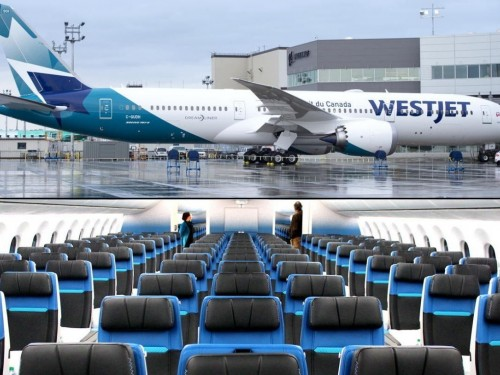 VIDEO: Step inside WestJet's new Boeing 787-9 Dreamliner