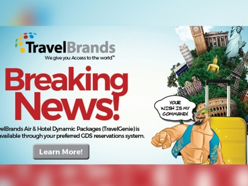 TravelBrands providing air & hotel combos worldwide through SIREV