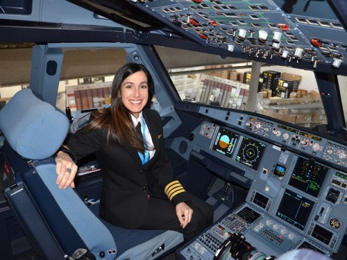 Women of Aviation Week: Air Transat's Capt. Martine Olivier