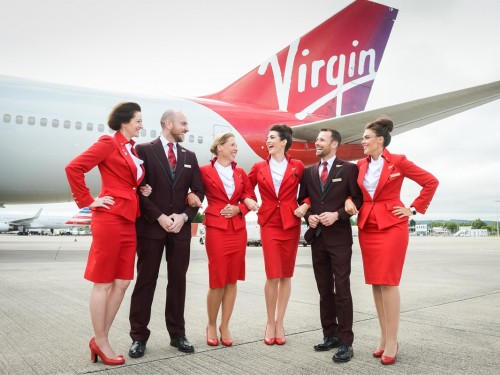 Virgin Atlantic says goodbye to mandatory makeup rule for flight attendants