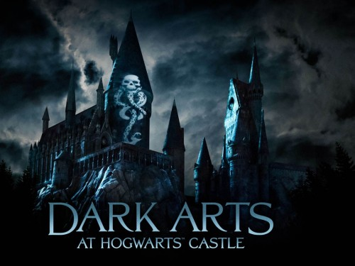 A spectacular new lightshow comes to Universal Orlando's Hogwarts Castle