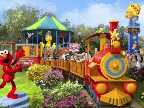 Sesame Street comes to SeaWorld this month