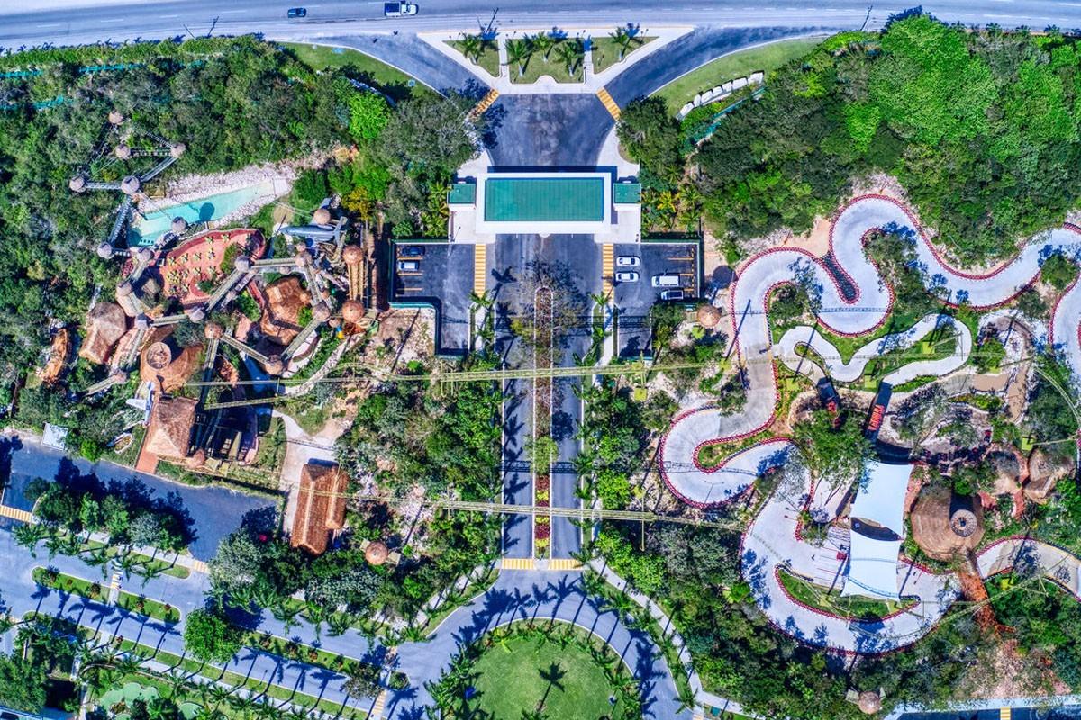 Barceló Maya Grand Resort opens adventure park