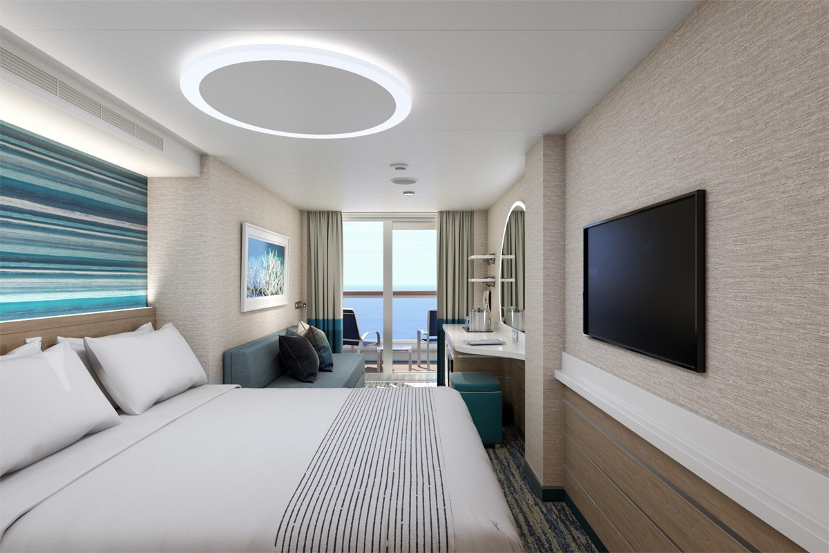 Carnival's shows off new Mardi Gras staterooms