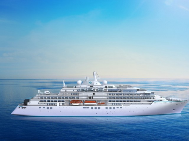 Bookings now open for Crystal Endeavor's 2021 Expeditions