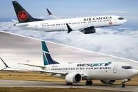 Air Canada, WestJet suspend 2019 financial guidance following 737 MAX 8 groundings