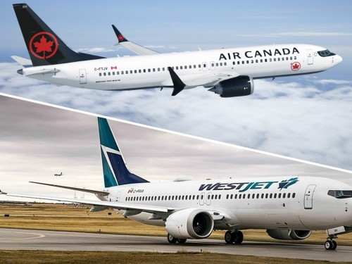 Air Canada, WestJet suspend 2019 financial guidance following 737 MAX 8 groundings