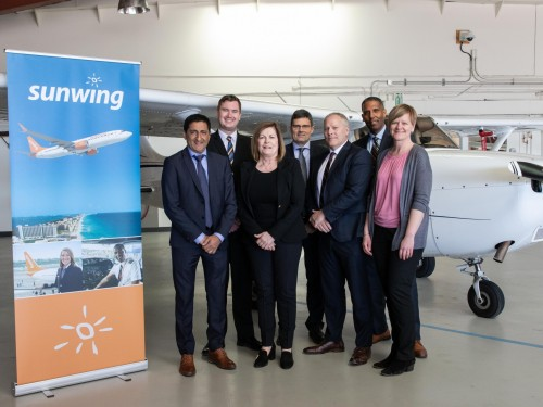 Sunwing partners with Mount Royal University to hire aviation grads