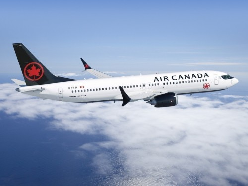 Air Canada flights from YVR operated via Air Transat