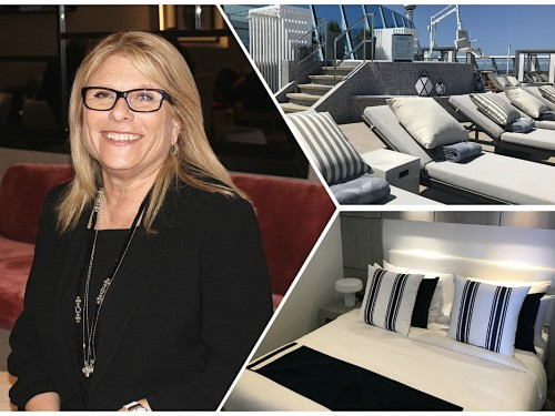 What's new on Celebrity Summit? We asked Celebrity Cruises' President & CEO Lisa Lutoff-Perlo