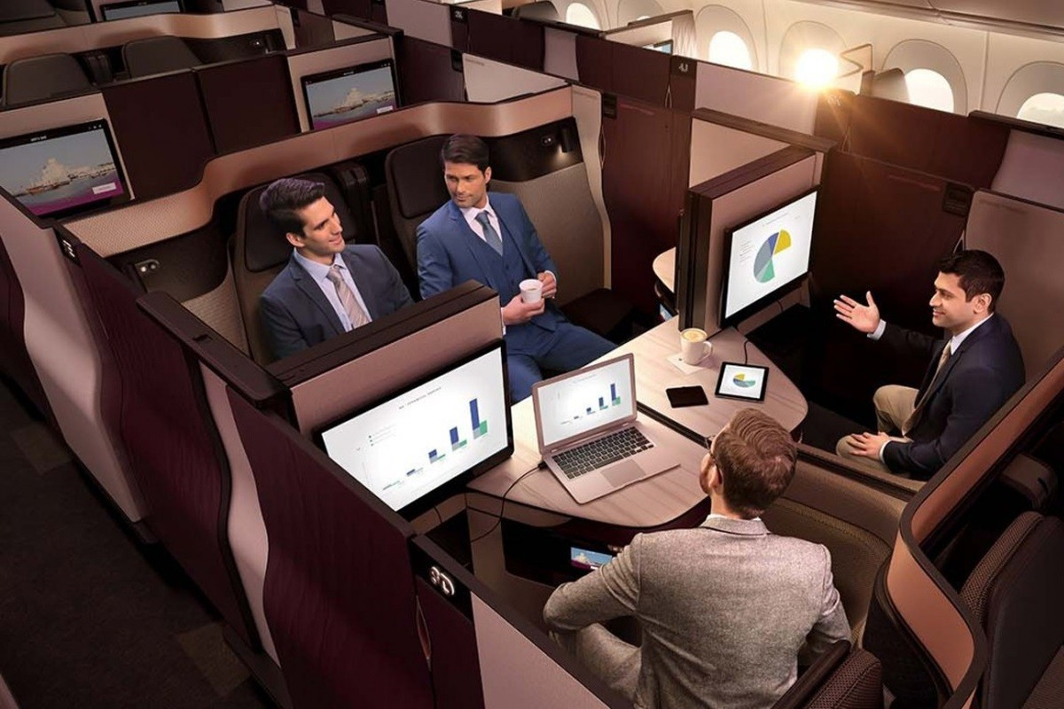 EXCLUSIVE: We test the new QSuite by Qatar Airways