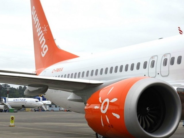 Sunwing issues update on grounded 737 MAX 8 fleet