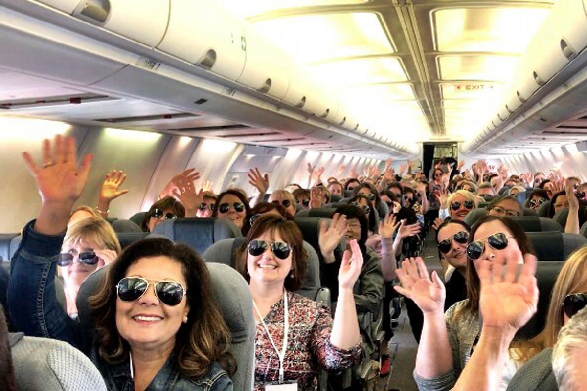 PHOTOS: Agents experience Celebrity's Jet Set FAM 3
