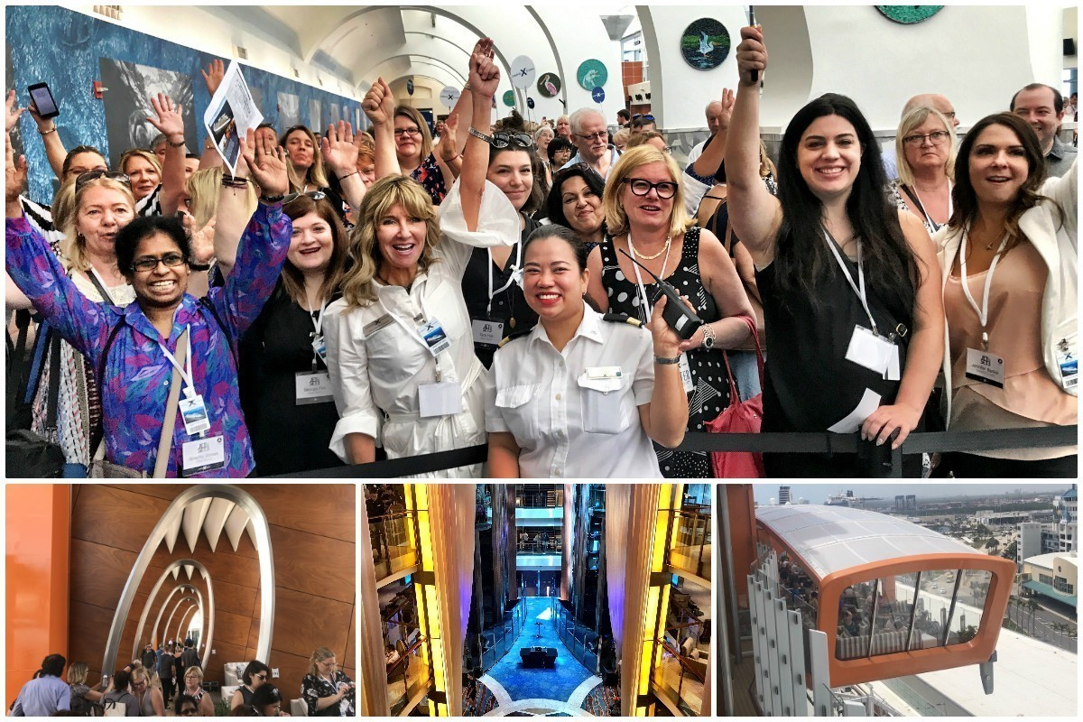 "Celebrity Cruises Canada gives agents the ""jet set"" treatment"