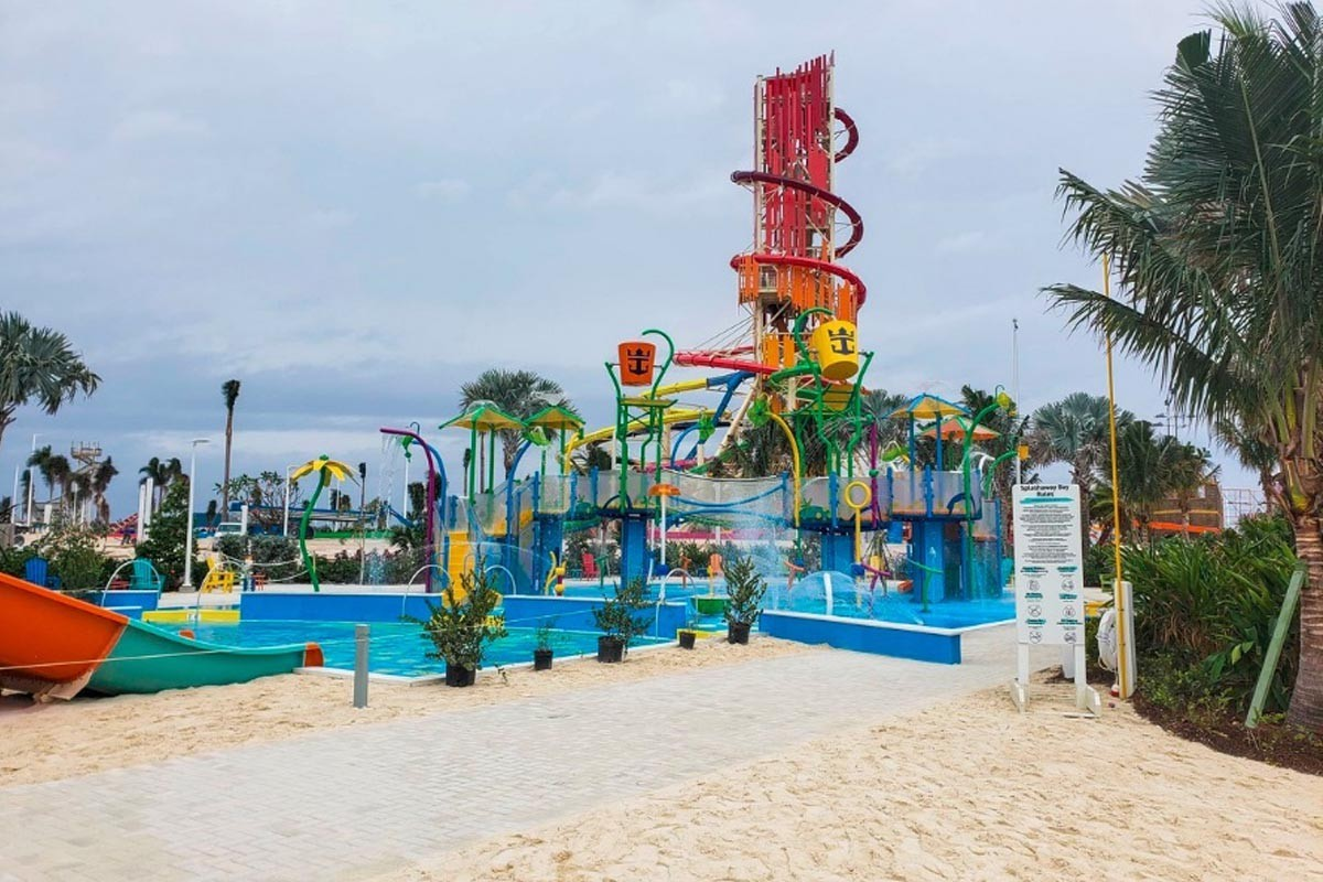 Royal Caribbean's Perfect Day at Coco Cay almost complete!