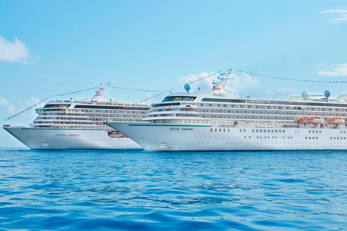 Bookings now open for Crystal's 2022 World Cruise