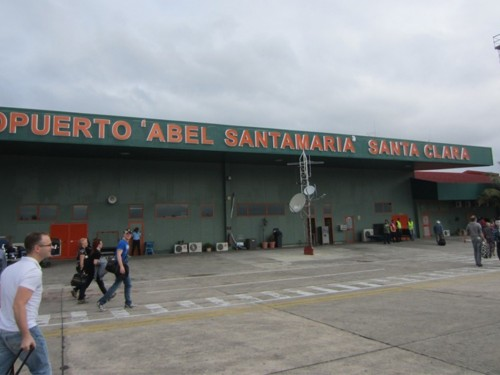 Cuba's Santa Clara airport shuts down due to storm