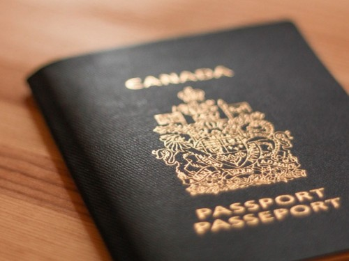This is why some Canadians have a white passport