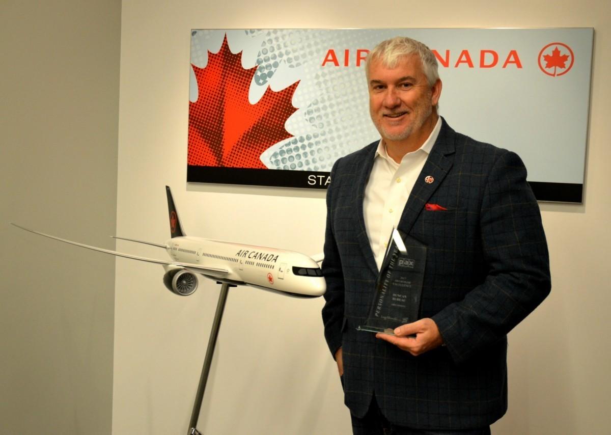 Duncan Bureau leaves Air Canada Rouge
