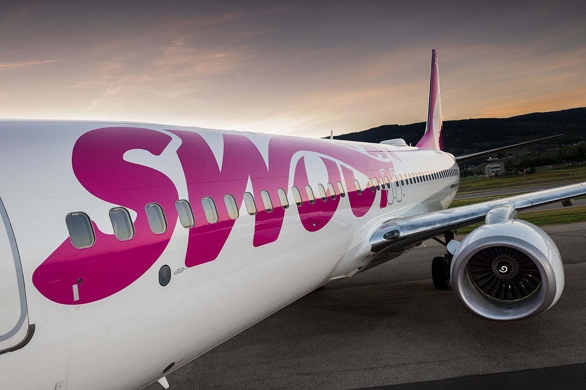 Swoop adds new summer routes from Western Canada