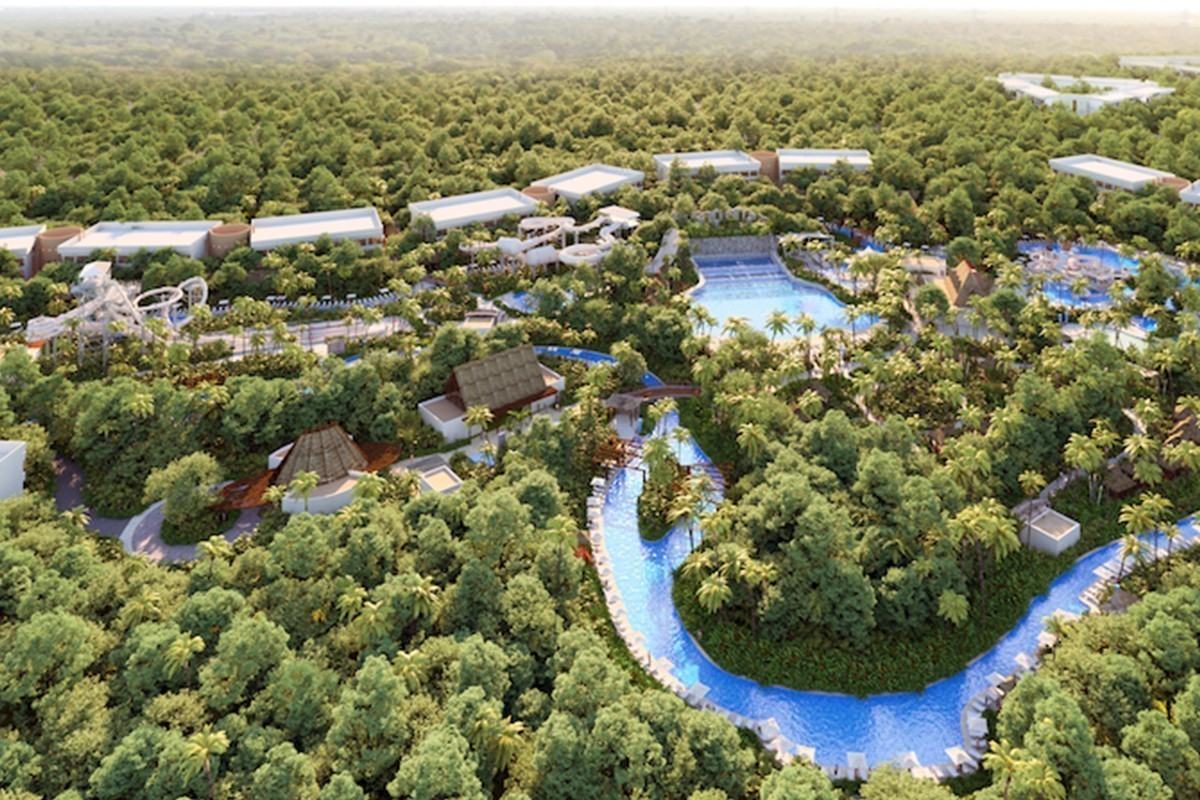 A luxury waterpark is opening in Mexico this June