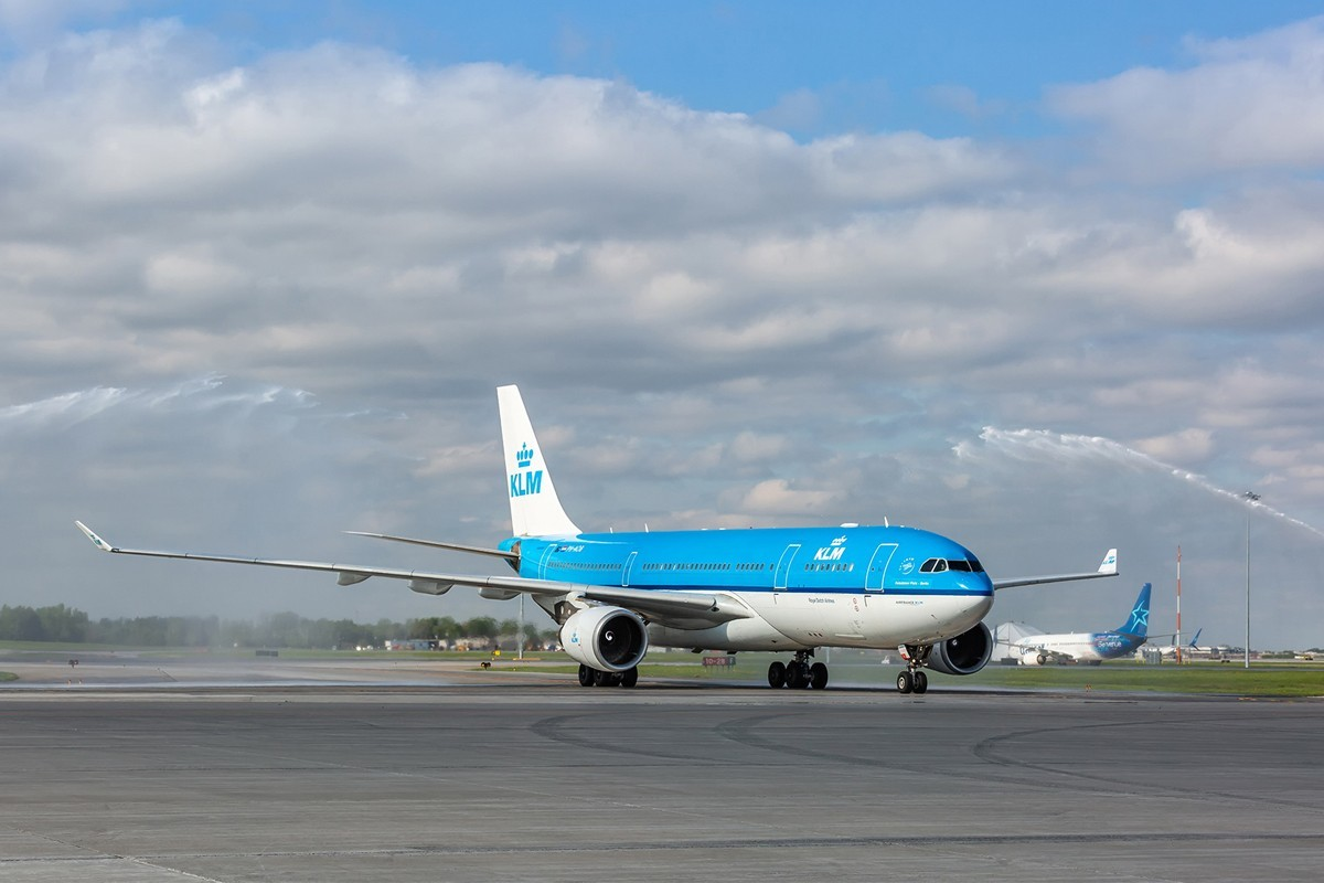 KLM marks 70 years in Canada
