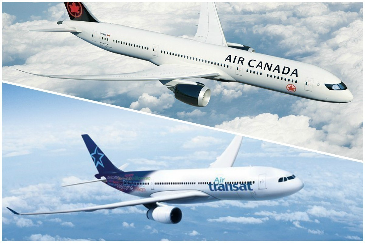 Air Canada & Transat seek to negotiate purchase deal