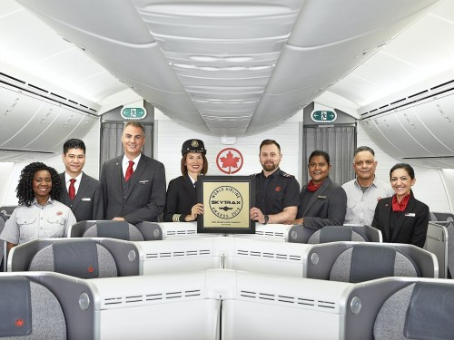Air Canada named Best Airline in North America