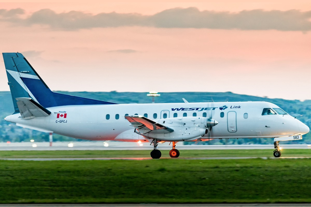 WestJet Link off to a good start in Western Canada