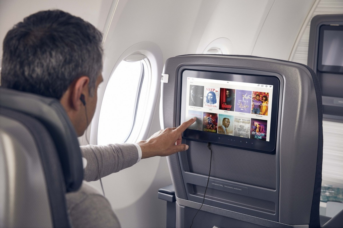 Air Canada partners with Crave & Stingray for enhanced entertainment