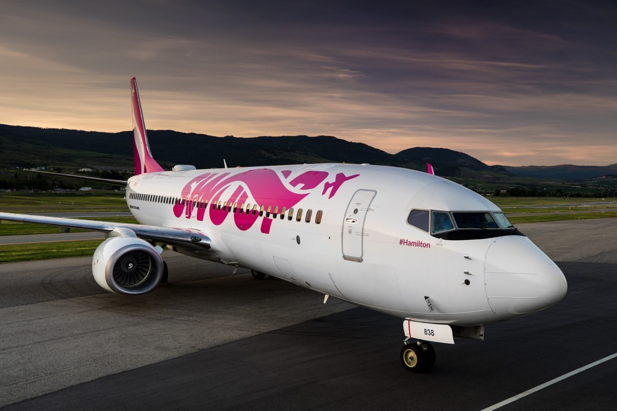 Swoop now flying to San Diego from Western Canada