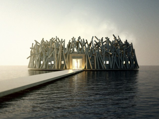 A new floating hotel is opening this year