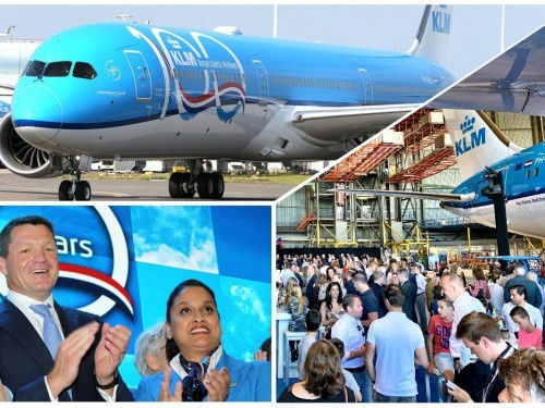 PAX On Location: KLM marks 100 years with Boeing 787-10 Dreamliner