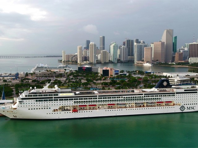 MSC Armonia making weekly visits to Ocean Cay