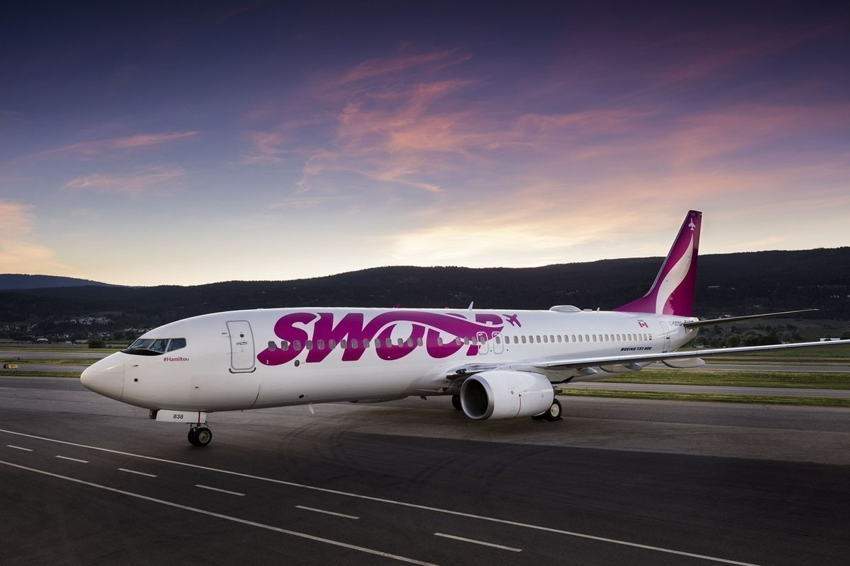 Swoop forced to cancel 23 flights after maintenance issue