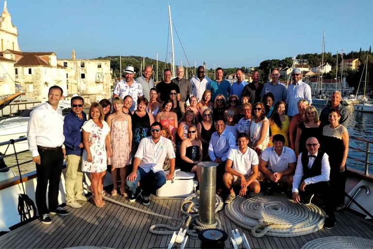 TTAND rewards top performers with Croatia cruise