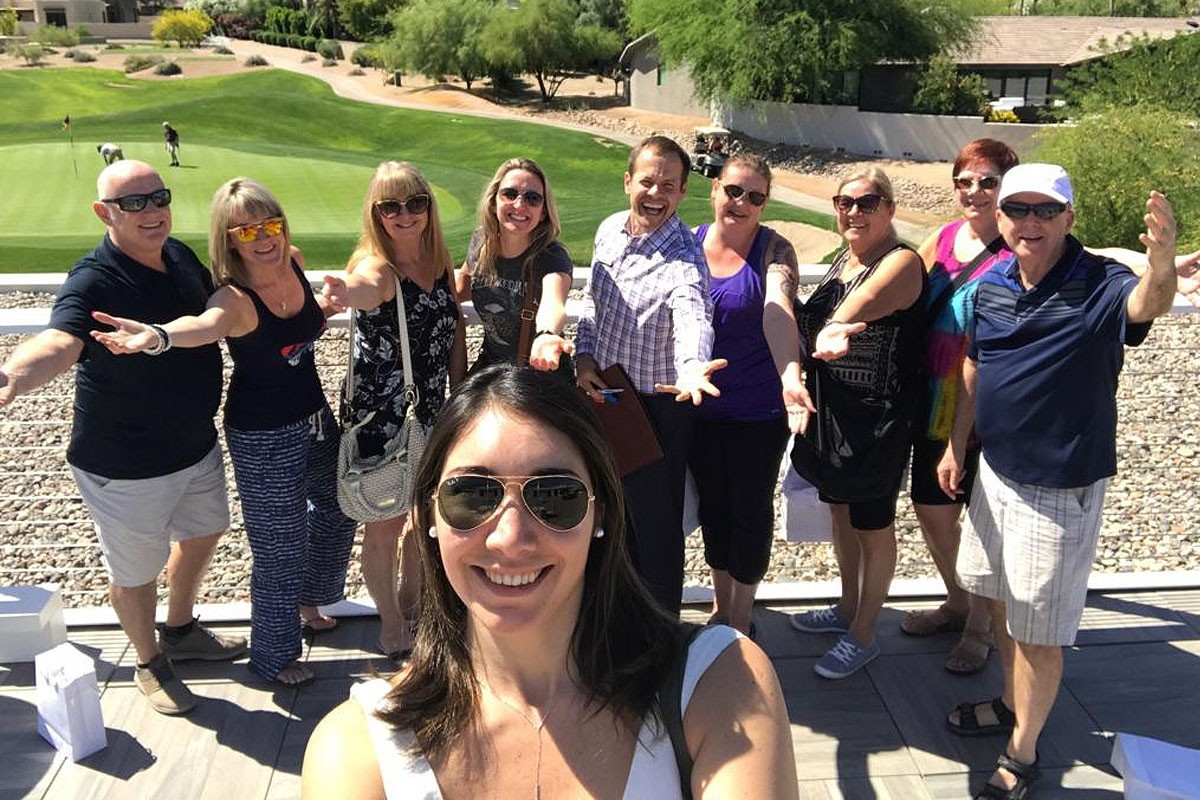 Travel Masters hosts Impact Award winners in Scottsdale