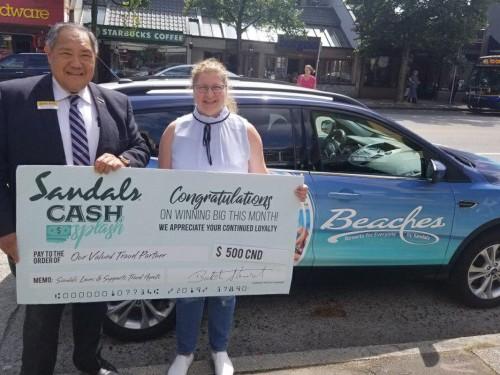 B.C. agent wins big in Sandals Cash Splash incentive