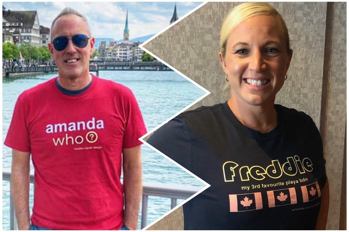 Freddie vs. Amanda vs. Christian: Playa BDMs' T-shirt war goes viral