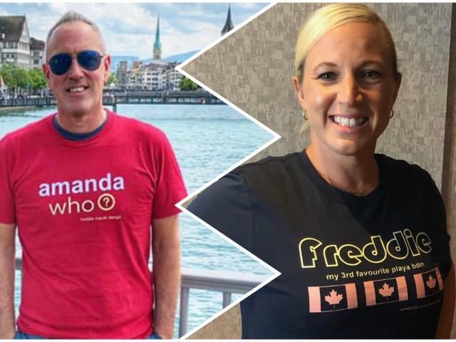 Freddie vs. Amanda vs. Christian: Playa BDMs' T-shirt war goes viral