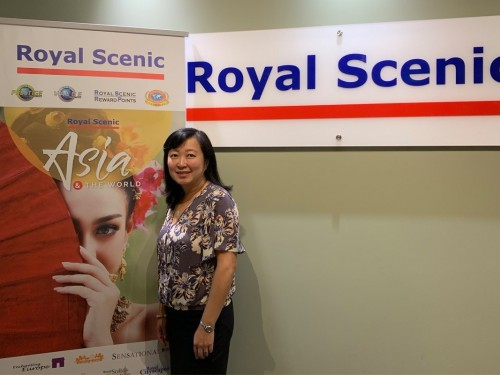 Adeline Piekham-Hiseh named Royal Scenic's new president